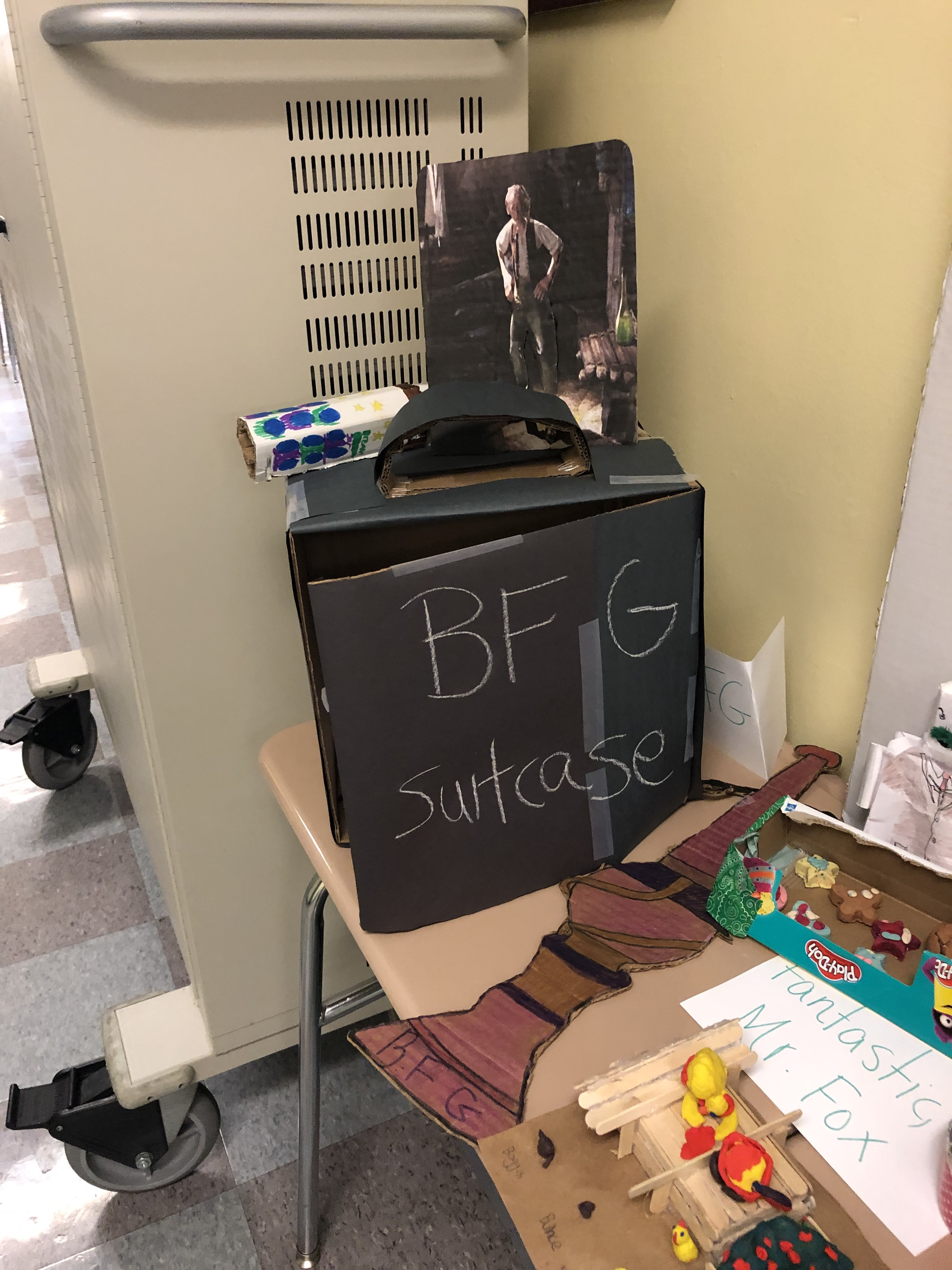 BFG artwork by studnets