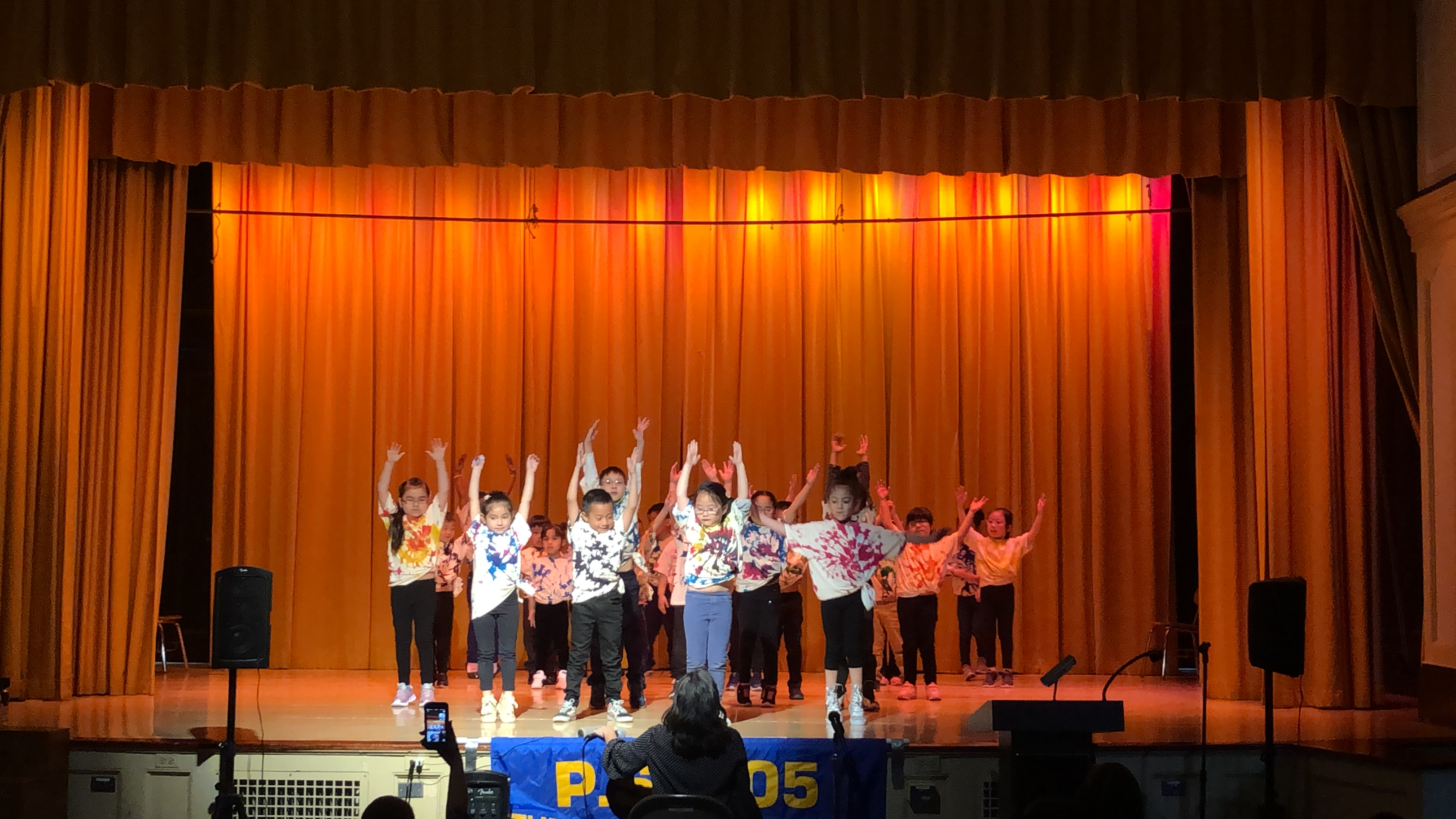 movement on stage performance